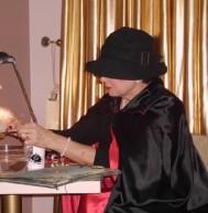 Madam Stanisława doing some magic
